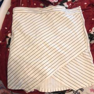 Striped Envelope Skirt